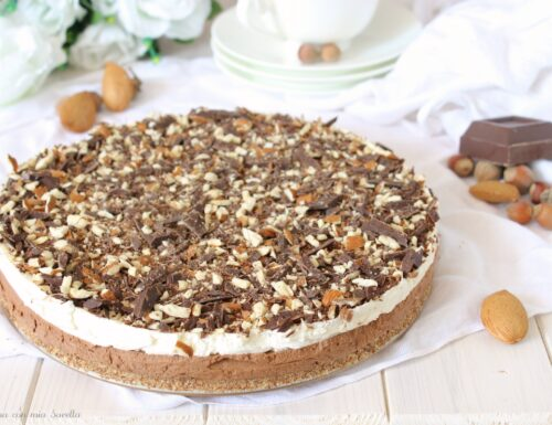 Torta fredda al mascarpone e cioccolato