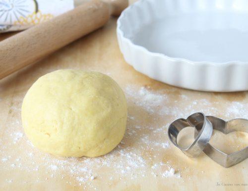 Pasta frolla salata che non si rompe