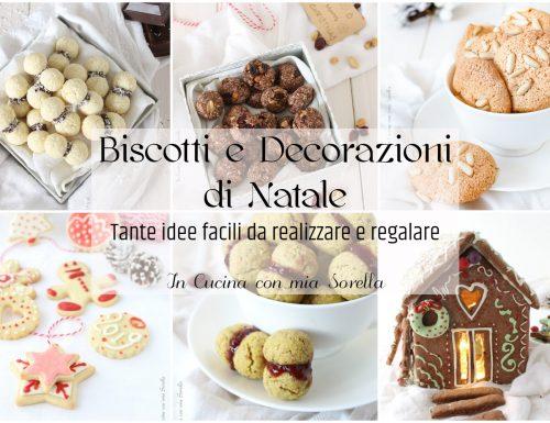 Biscotti e decorazioni di Natale
