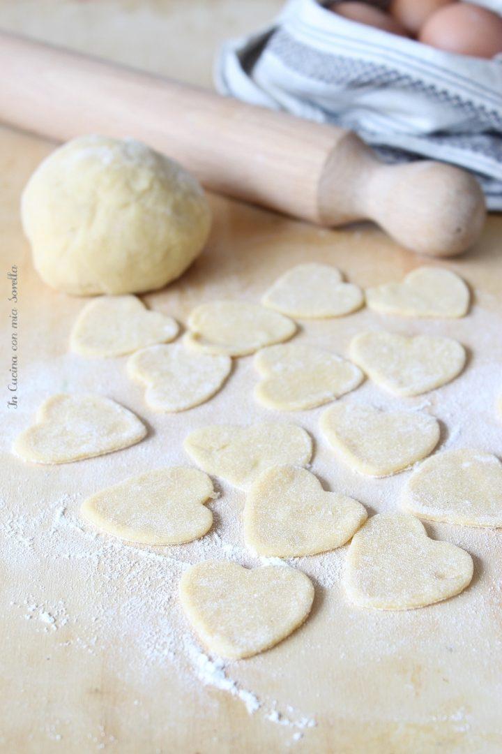 cuori di pasta fresca