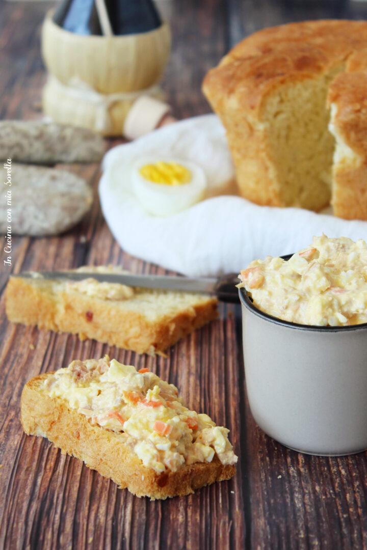 Salsa tonnata con uova sode
