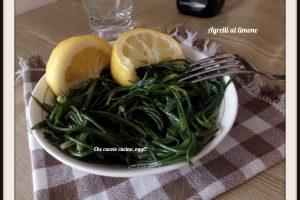 Agretti al limone