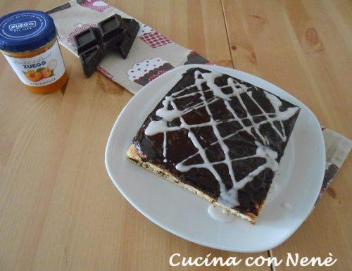 Torta rapida glassata