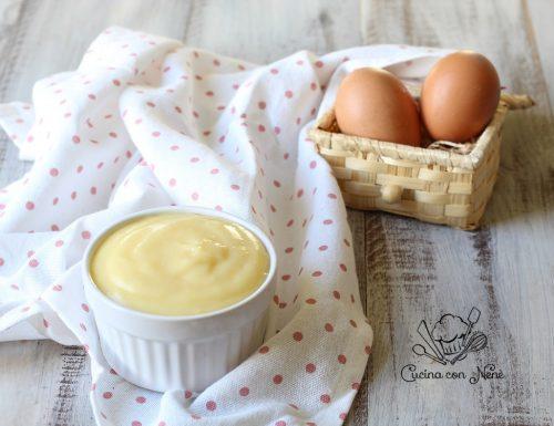 Crema pasticcera fatta in casa