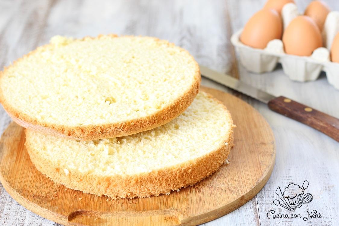 Pan di spagna soffice