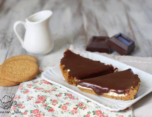 Crostata fredda mascarpone e cioccolato