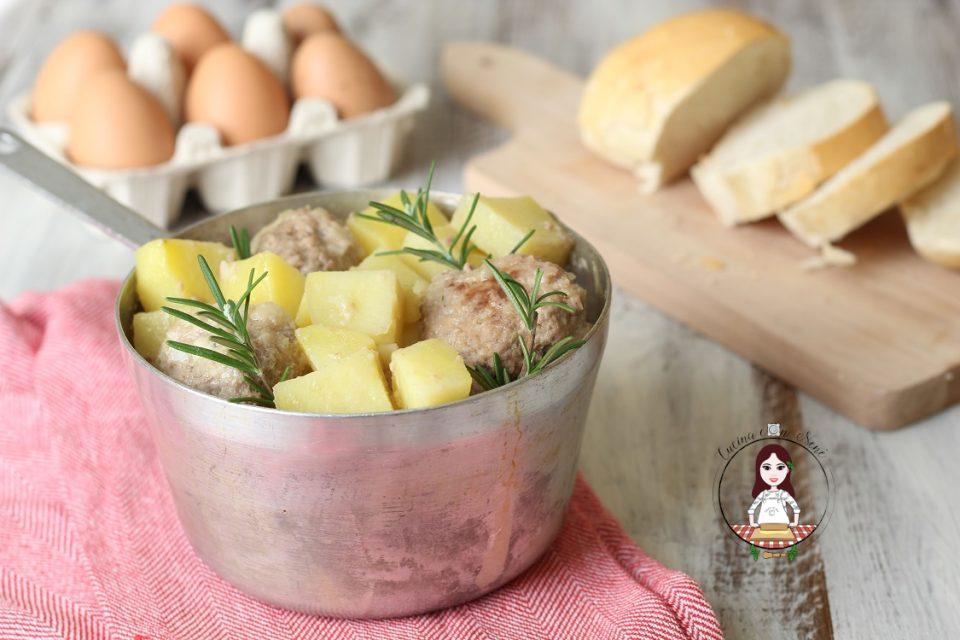 Polpette in padella con le patate