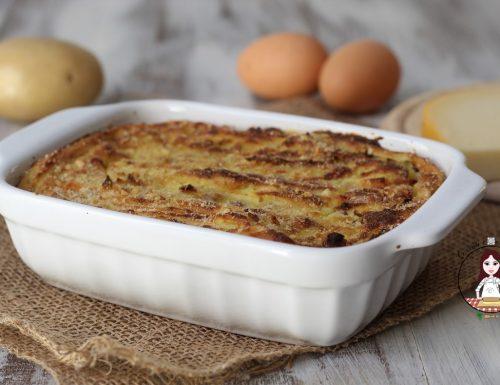 Gateau di patate e pancetta