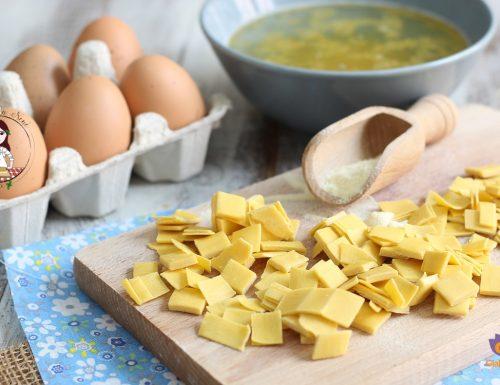 Quadretti all'uovo