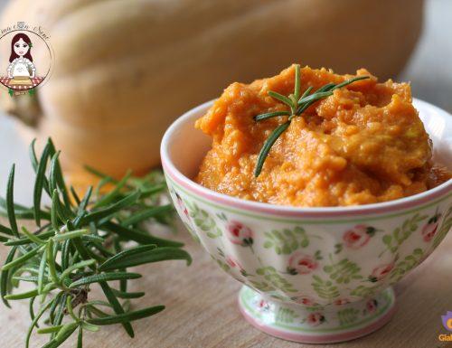Ripieno di zucca e salsiccia per pasta