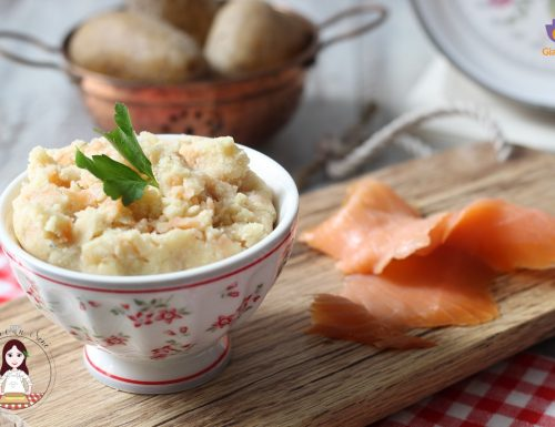 Ripieno al salmone e patate per pasta fresca