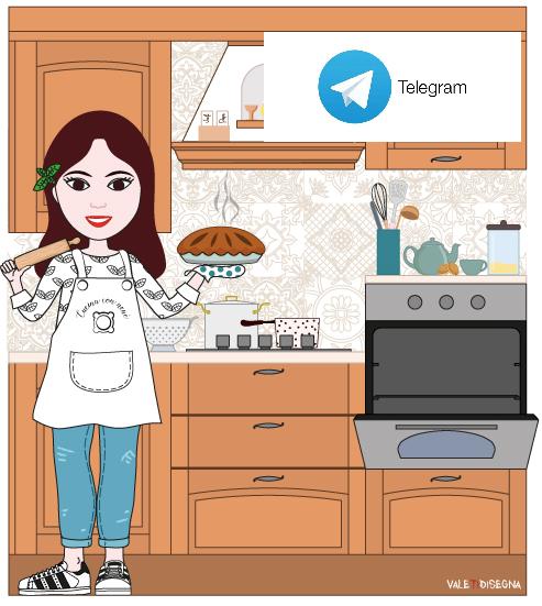 ricette di cucina con nenè su telegram