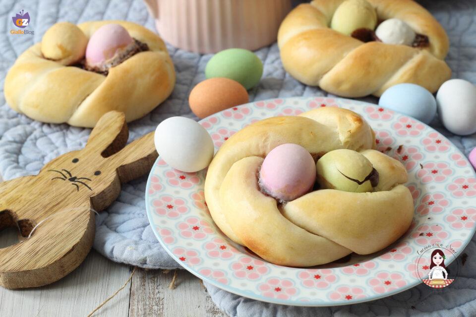 Cestini di Pasqua dolci