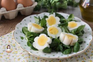 Fiorellini di uova sode