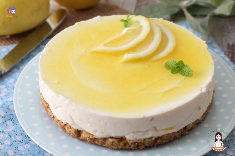 Torta fredda al limone con mascarpone