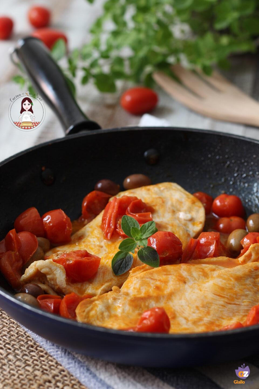Pollo pomodorini e olive