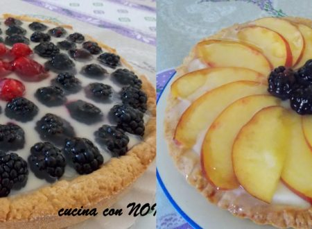 Crostata alla crema con frutta