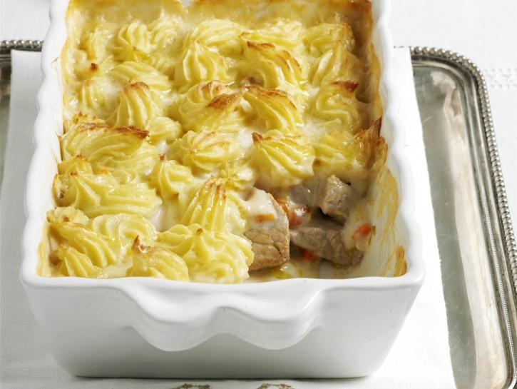 Fricassea spezzatino patate duchesse