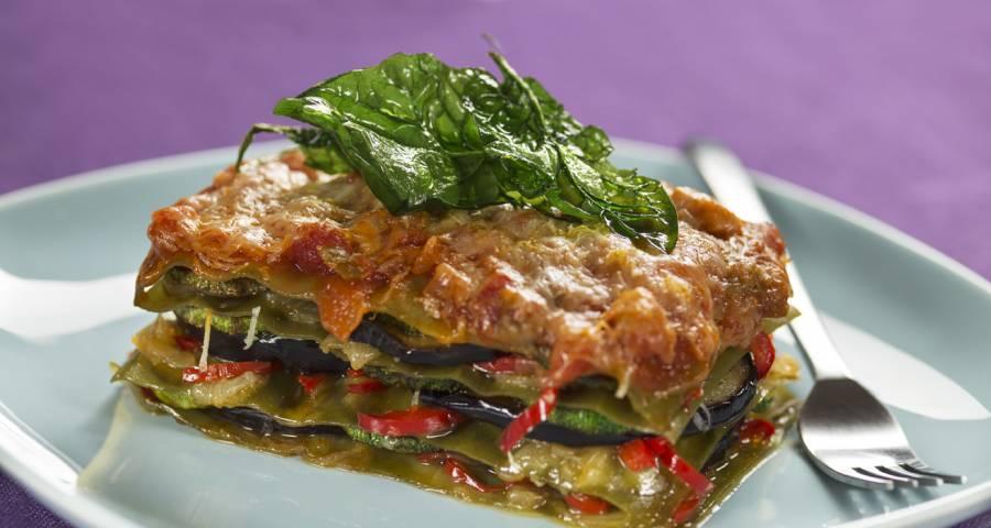 Lasagne alle verdure di Nonna Ariella vegetariano è buono