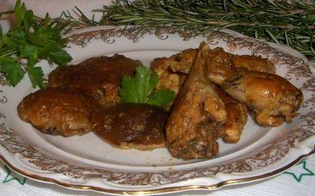Fagiano funghi porcini marinato Nigella's way piatto principe