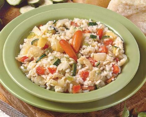 Risotto bianco verdure al forno ricetta vegetariana e vegana