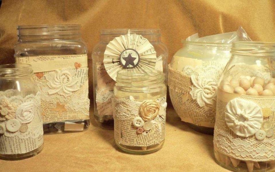 Rumtopf uva bianca metodo tedesco conservazione frutta - Barattoli vetro decorati ...