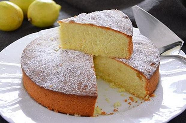 Una Soffice Torta Al Limone Senza Uova Burro E Latte