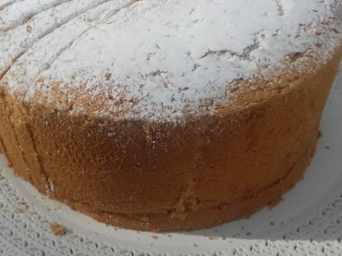 Angel cake solo Albumi dolce morbidezza per la colazione