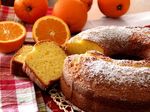 Ciambella all'Arancia dolce genuino di Mamma Gesua