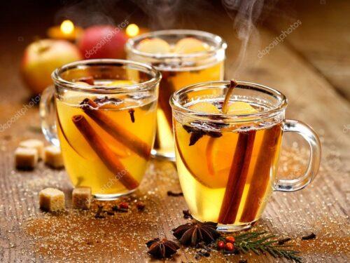 Natale 2017 Bevande alcoliche Champurrado Mulled Cider Eggnog