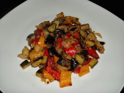 Maltagliati con ratatouille di verdure for Cucinare dietetico