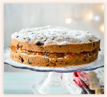 Super-simple fruitcake