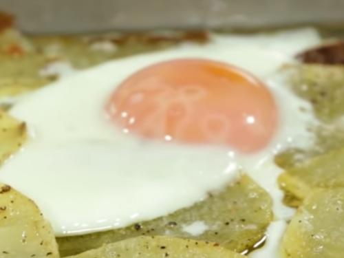 Video Piatto unico Patate e Uova