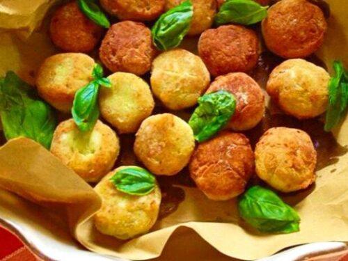 Secondo piatto Polpette di ricotta cotte al forno