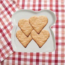La pasta per biscotti senza uova