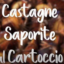 Castagne saporite al cartoccio