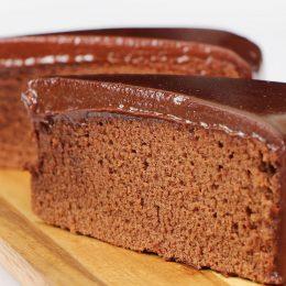 Una torta tenerina al cioccolato