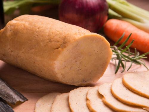 Vegan e il seitan impanato