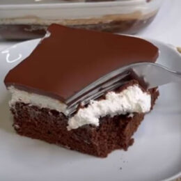 Torta al cioccolato a 'cottura' fredda