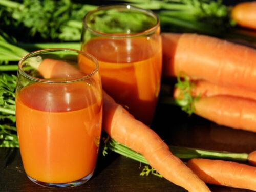 Carote poche calorie in aiuto al sistema immunitario