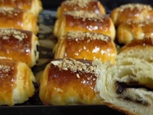Croissant casalinghi con pochi grassi