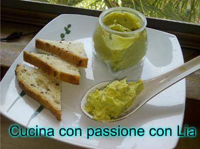 Crema salata di avocado