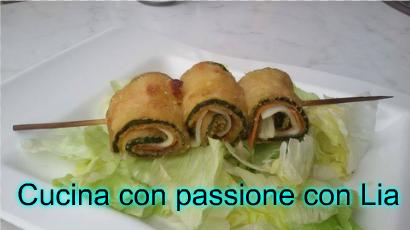 Spiedini di zucchine vegan al forno