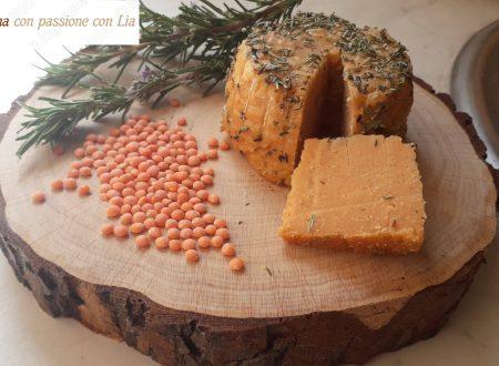 Veg formaggio di lenticchie rosse