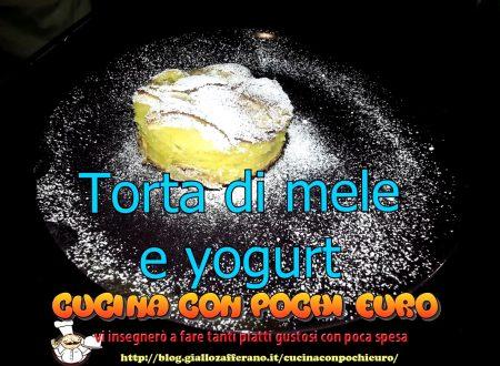TORTA DI MELE E YOGURT SENZA PESARE