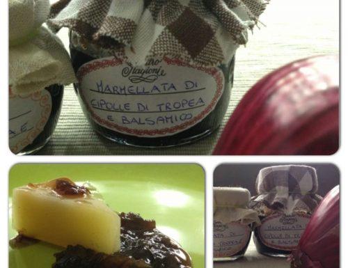 Marmellata di cipolle di tropea e aceto balsamico