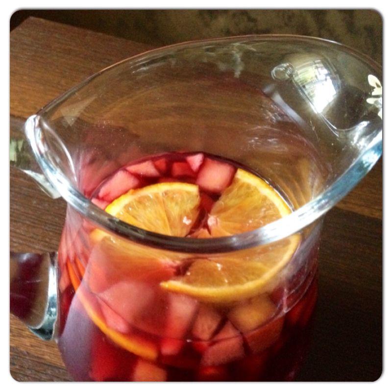 Sangria rossa - ricetta spagnola