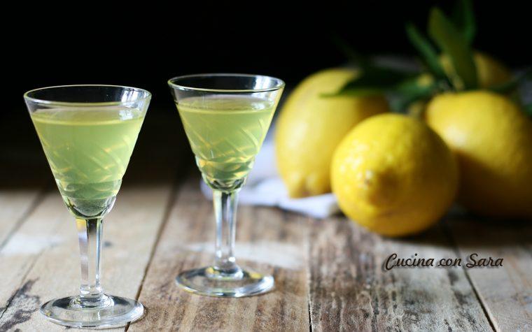 Limoncello fatto in casa – liquore dolce