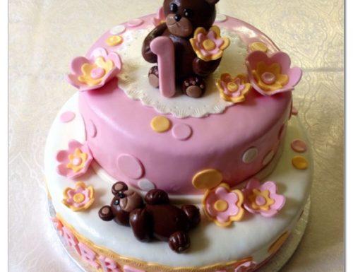 Torta primo compleanno per Rebecca