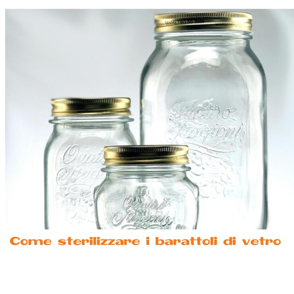 Sterilizzazione barattoli